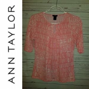 Ann Taylor Printed Top | Size Sp